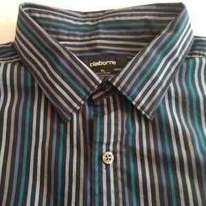 Claiborne Men's Long Sleeved Dress Shirt